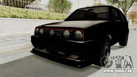 Volkswagen Golf 2 Tuning für GTA San Andreas