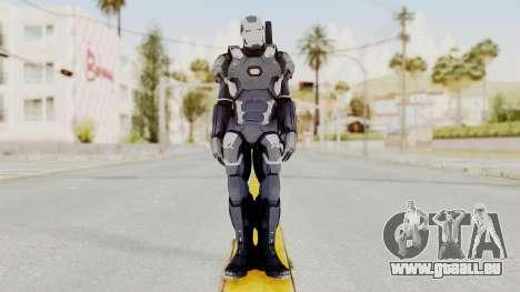 Captain America Civil War - War Machine pour GTA San Andreas deuxième écran