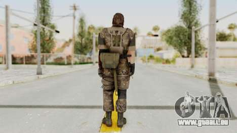 MGSV The Phantom Pain Venom Snake Wetwork für GTA San Andreas dritten Screenshot