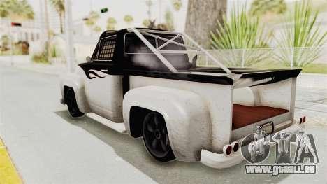 GTA 5 Slamvan Race PJ1 für GTA San Andreas rechten Ansicht