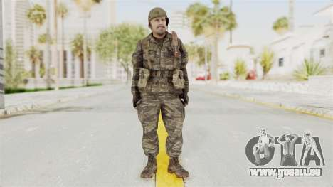 COD BO SOG Reznov v2 pour GTA San Andreas deuxième écran