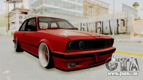 BMW M3 E30 Camber Low pour GTA San Andreas