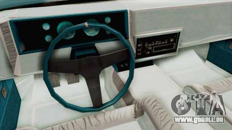 GTA 5 Dundreary Virgo Classic Custom v3 pour GTA San Andreas vue de côté