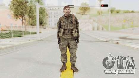 COD BO SOG Reznov v1 pour GTA San Andreas deuxième écran