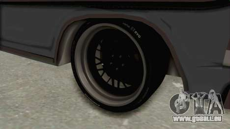 Ford F-150 Black Whells Edition pour GTA San Andreas vue arrière