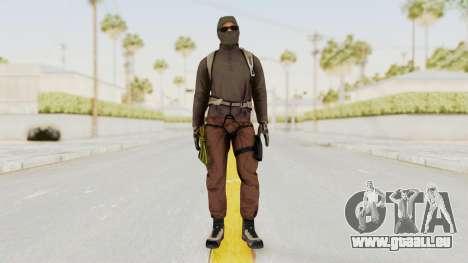 Battlefiled Hardline Professional Crime pour GTA San Andreas deuxième écran