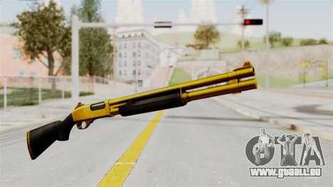 Remington 870 Gold pour GTA San Andreas deuxième écran