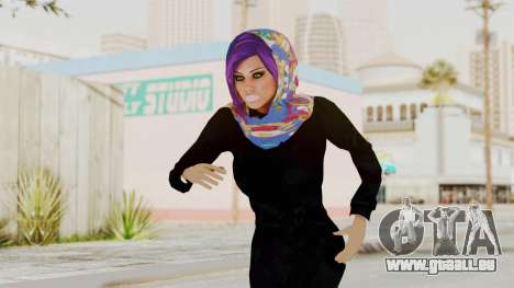 Iranian Girl Skin v2 für GTA San Andreas