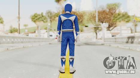 Mighty Morphin Power Rangers - Blue für GTA San Andreas dritten Screenshot