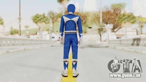 Mighty Morphin Power Rangers - Blue für GTA San Andreas dritten Screenshot