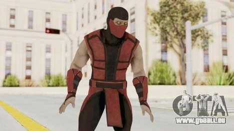 Mortal Kombat X Klassic Ermac pour GTA San Andreas