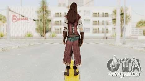 Assassins Creed Brotherhood - Courtesan pour GTA San Andreas troisième écran