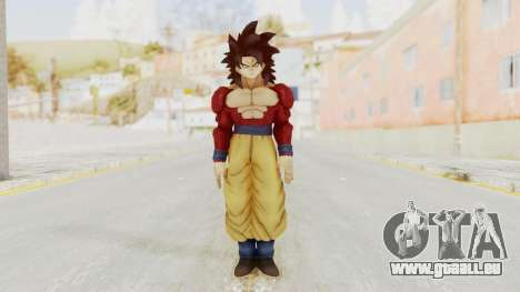 Dragon Ball Xenoverse Goku SSJ4 für GTA San Andreas zweiten Screenshot