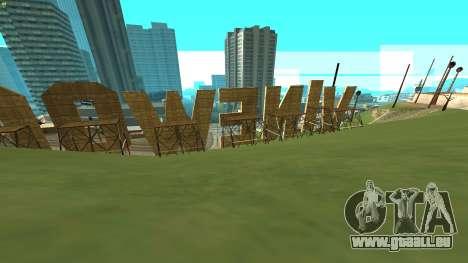 New Vinewood Russia pour GTA San Andreas deuxième écran