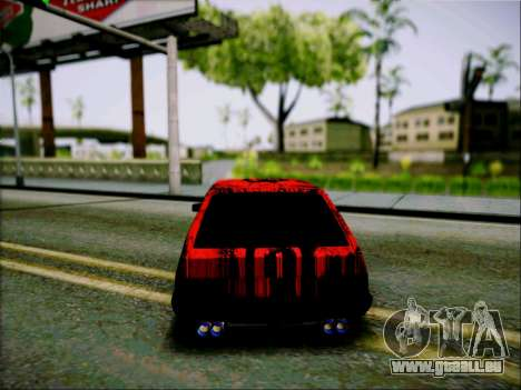 2109 Aggressiv für GTA San Andreas rechten Ansicht