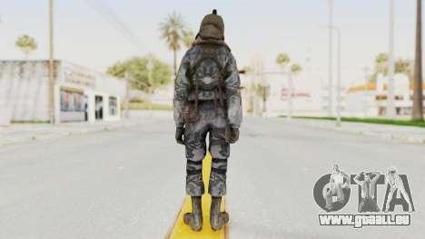 COD 4 Custom Russian Soldier pour GTA San Andreas troisième écran