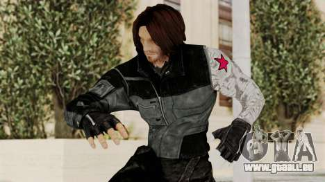 Captain America Civil War - Winter Soldier pour GTA San Andreas