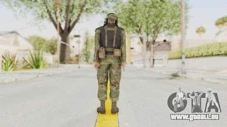 MGSV Ground Zeroes US Pilot v2 pour GTA San Andreas troisième écran