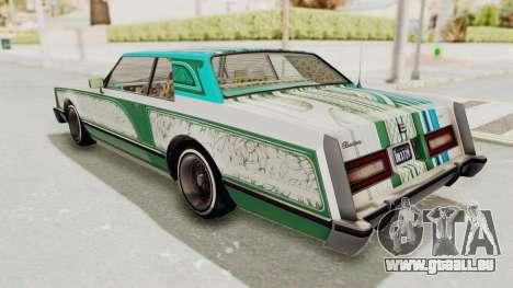 GTA 5 Dundreary Virgo Classic Custom v1 IVF für GTA San Andreas