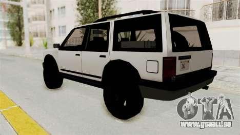 Dundreary Landstalker 1992 pour GTA San Andreas laissé vue