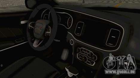 Dodge Charger RT 2015 für GTA San Andreas Innenansicht