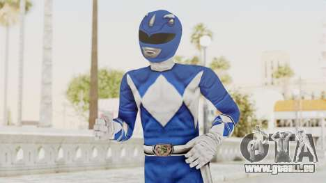 Mighty Morphin Power Rangers - Blue für GTA San Andreas
