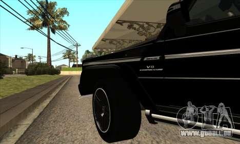 Mercedes G55 Kompressor für GTA San Andreas Seitenansicht