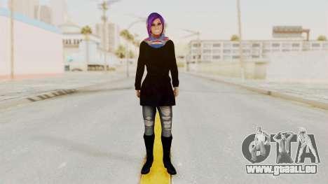 Iranian Girl Skin v2 für GTA San Andreas zweiten Screenshot