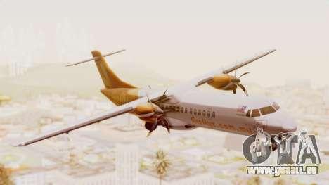 ATR 72-500 Firefly Airlines für GTA San Andreas zurück linke Ansicht