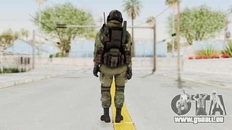 Advanced Warfare North Korean Assault Soldier pour GTA San Andreas troisième écran