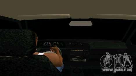 VAZ 2114 pour GTA San Andreas vue de droite
