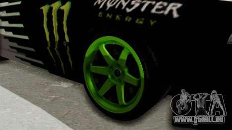 Nissan Skyline R32 Drift Monster Energy Falken für GTA San Andreas Rückansicht