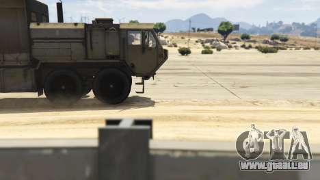 GTA 5 Heavy Expanded Mobility Tactical Truck rechte Seitenansicht