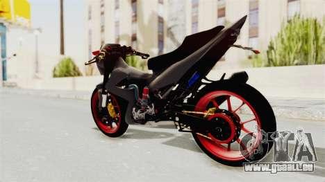 Satria FU 150 Modif FU 250 Superbike pour GTA San Andreas laissé vue