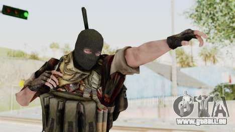Battery Online Russian Soldier 3 v2 pour GTA San Andreas