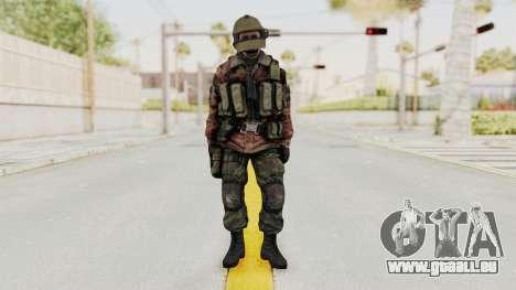 Battery Online Russian Soldier 10 v2 für GTA San Andreas zweiten Screenshot