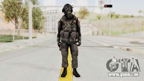 CoD MW3 Russian Military LMG Black pour GTA San Andreas deuxième écran