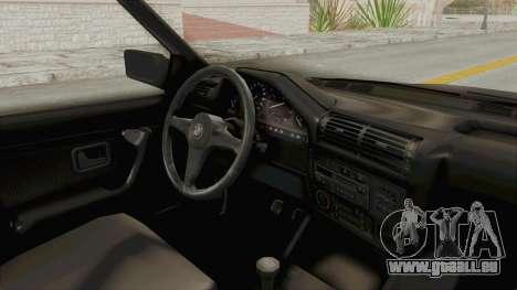 BMW M3 E30 für GTA San Andreas Innenansicht