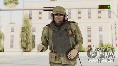 MGSV Ground Zeroes US Pilot v1 pour GTA San Andreas