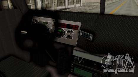 Kenworth T800 pour GTA San Andreas vue arrière