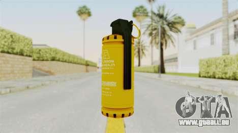 Tear Gas Gold für GTA San Andreas