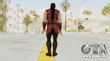 Mortal Kombat X Klassic Ermac für GTA San Andreas dritten Screenshot