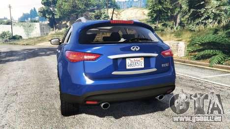 GTA 5 Infiniti FX S50 hinten links Seitenansicht