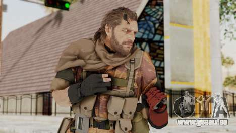 MGSV The Phantom Pain Venom Snake Sc No Patch v5 pour GTA San Andreas