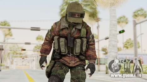 Battery Online Russian Soldier 10 v2 pour GTA San Andreas