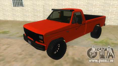 1984 Ford F150 Final pour GTA San Andreas