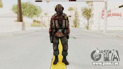 Battery Online Russian Soldier 7 pour GTA San Andreas deuxième écran