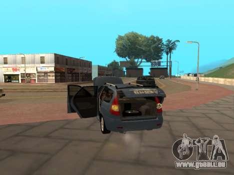 Lada Priora IVF pour GTA San Andreas vue de droite