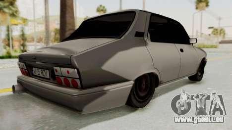 Dacia 1310 TI Tuning v1 pour GTA San Andreas sur la vue arrière gauche