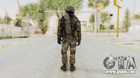 CoD MW3 Russian Military SMG v1 für GTA San Andreas dritten Screenshot